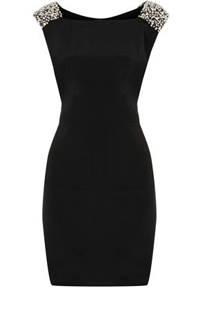 .another version  of the little black dress: