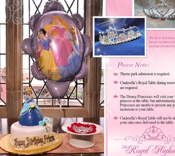 Oh how much do I miss seeing the Princess Packages at Cinderella's Royal Table.