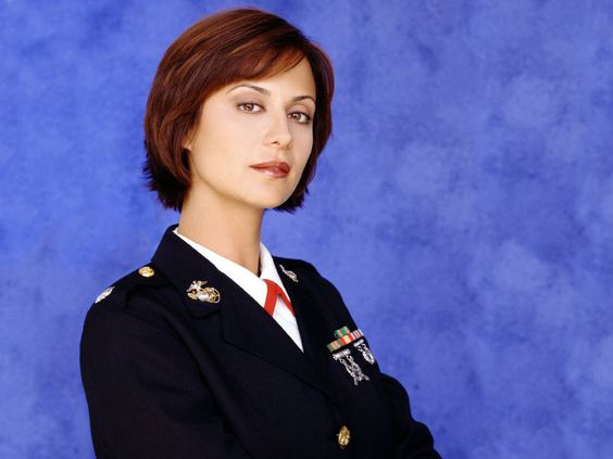 Catherine Bell reflected the Honor, Dignity and Professionalism of the Women of the US Marine Corps