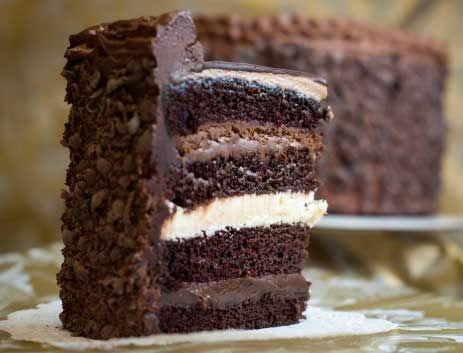 Chocolate Silk Mousse Cake Recipe
