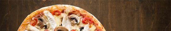 Bannière boîte à pizza