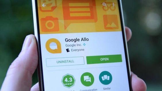 Allo,  nueva app de mensajería instantánea de Google con la que espera plantar cara y desafiar a Whatssapp.