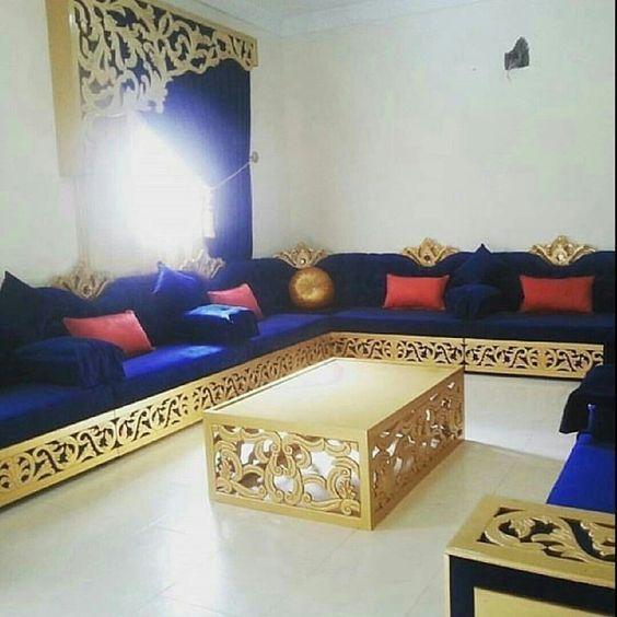 Salon séjour marocain 2018 الصالون المغربي farisdecor salon séjour decorateur salon 2018
