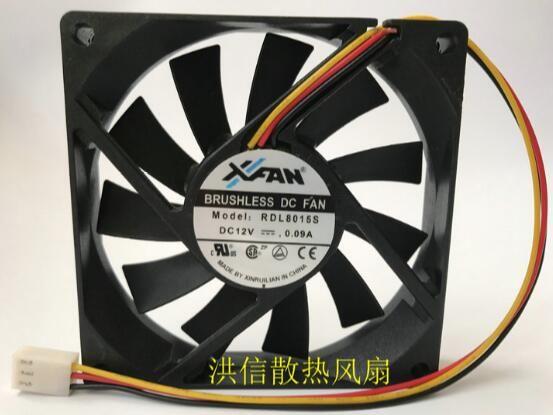 Wholesale Original Xfan 8015 Rdl8015s Dc12v 0 09a 3 Line Super