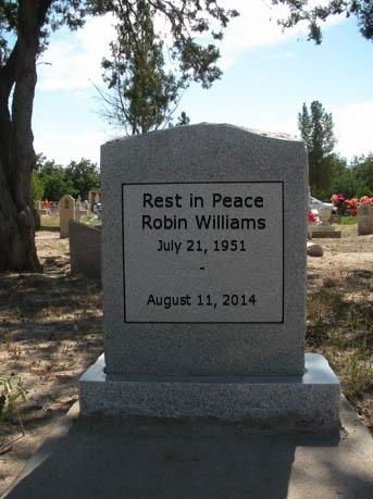 Robin Williams tombstone - Google Search | Famous Graves ...