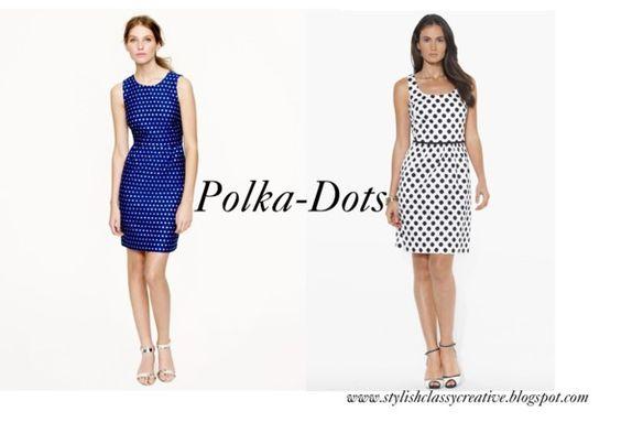 On the blog: Graduation dress ideas: Polka-Dots