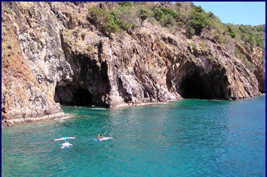 The Caves at Norman Island BVI