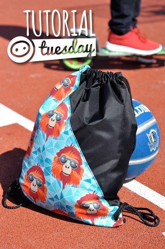 Tutorial Tuesday: Coole Turnbeutel für Jungs und Mädchen