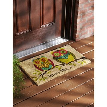 If I get this one as well it'll make it 2 owl doormats that I can alternate :-)