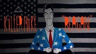 "Killer Mike - ""Reagan"" (Official Music Video), via YouTube."