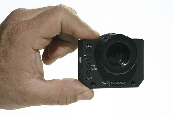 Novo: re-housed GoPro Hero3 >>> more features with interchangeable lens ability //