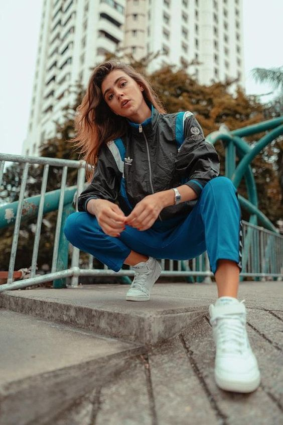 ADIDAS LIMITED EDITION Vintage 90's Adidas Sport Lore #WomenPhotography