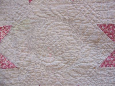 O'Quilts: Antique Pink Star