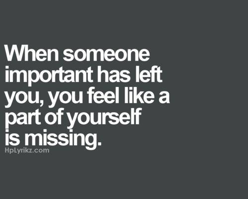 missing #lovehurts