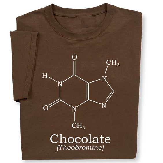 Sometimes you learn something helpful in chemistry class. Like the chocolate molecule structure. This Science Chemistry t-shirt is a must for all of your chemistry fans! Find this shirt and more at ComputerGear.com