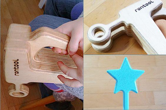 Wir haben rontool Holzspielzeug getestet
