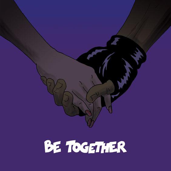 Major Lazer, Wild Belle – Be Together (single cover art)