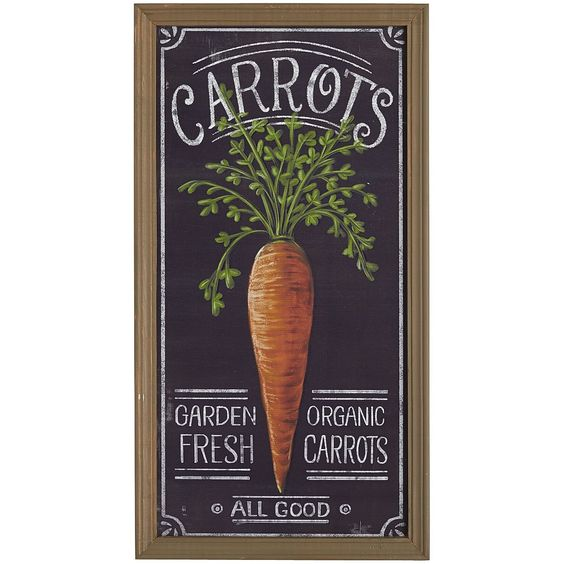 What better way to lure the Easter Bunny to your home than by tempting him with some garden-fresh carrots? With our wooden sign decorating your home, he'll be hopping your way in no time.: