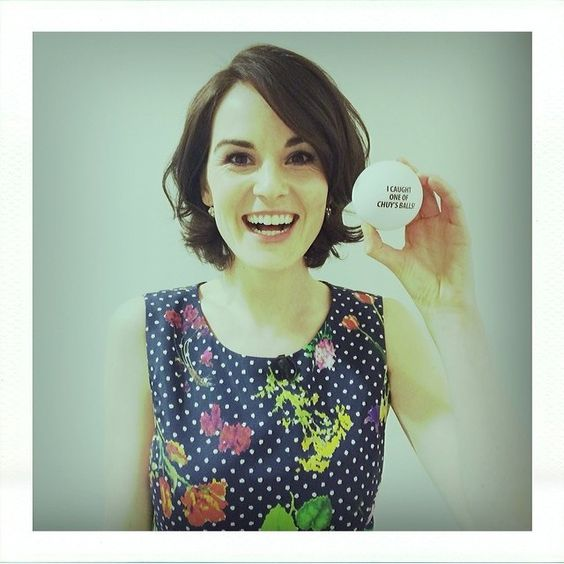 lady mary...having a ball