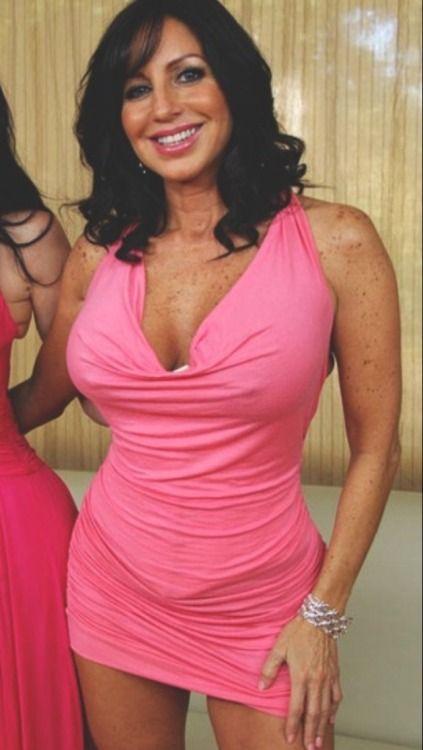 Mature Pink Dress 38