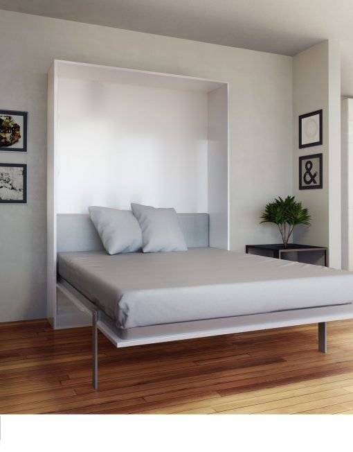 Hover Compact Wall Bed Queen Size Modern Murphy Beds Queen