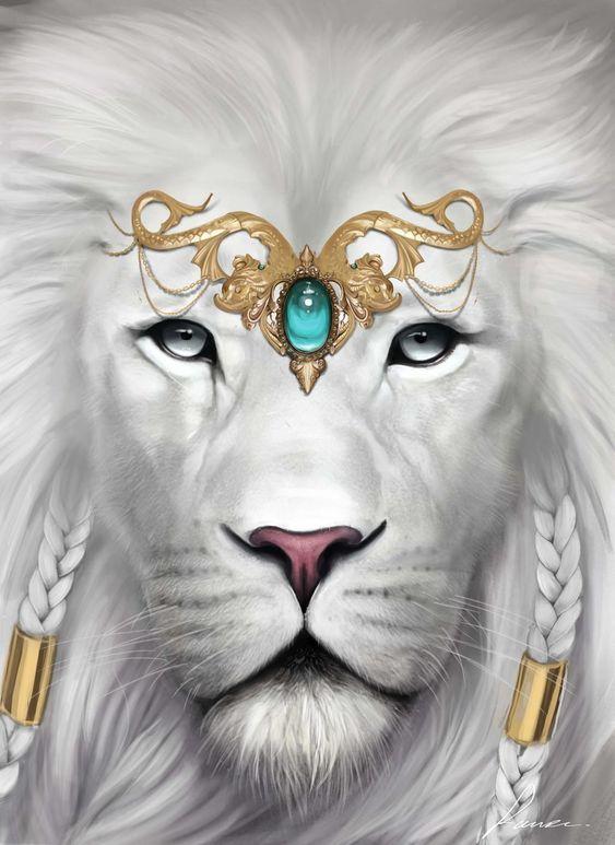 White Lion by Lauuw-w