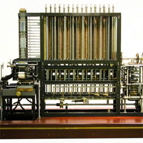 charles babbages design for a mechanical computer in