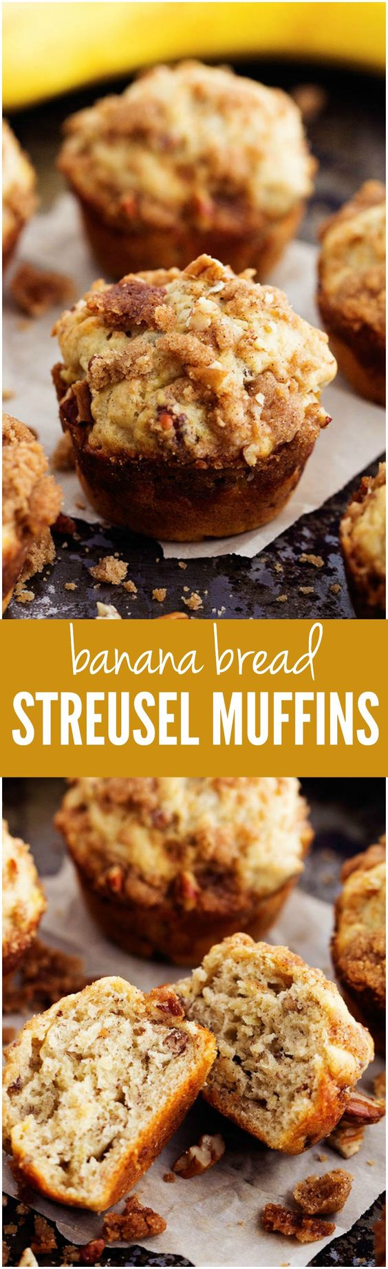 Bread Streusel Muffins | Recipe | Banana Bread Muffins, Streusel ...