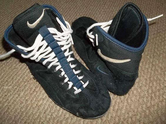 RARE Nike Footsweeps Wrestling Shoes Size 8 5 | eBay | Nike ...