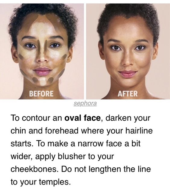 Admirable Contour Oval Face Make Up Pinterest Oval Faces Faces And Short Hairstyles Gunalazisus
