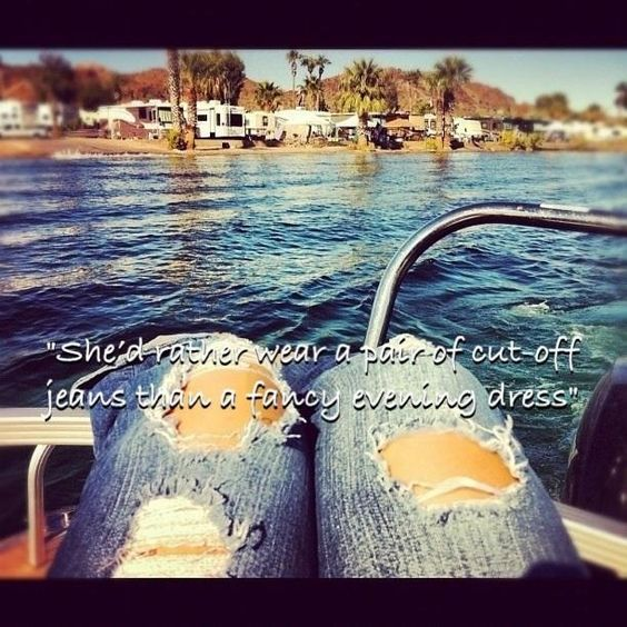I Country song quotes ... Ripped jeans ...Bare feet ...