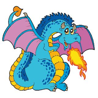 dragon clipart cartoon Cerca