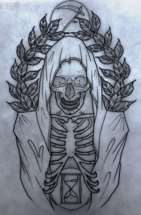 grim reaper flash | grim reaper tattoo