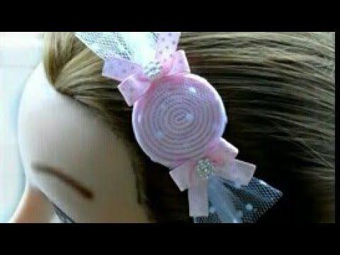 مشروع مربح طريقة سهلة وبسيطة لعمل توكة للشعر على شكل بونبونى How To Make Hair Bands Youtube Crafts Fashion