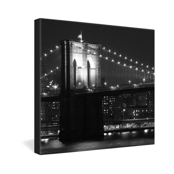 Leonidas Oxby Brooklyn Bridge 125 Gallery Wrapped Canvas