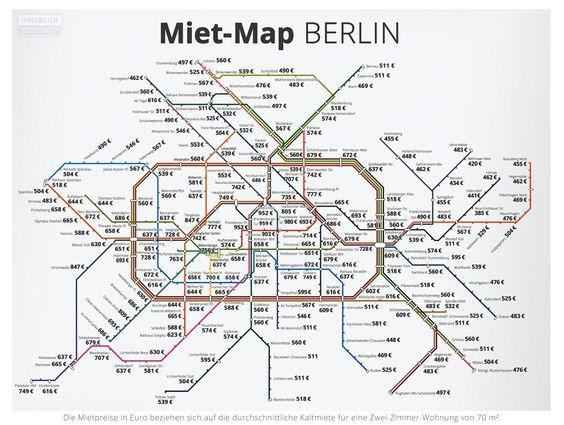 Miet Map Berlin Berlin Map Metro Station