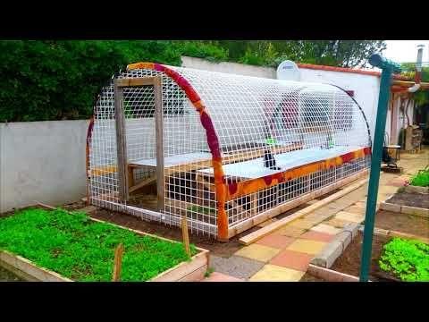 How To Make Greenhouse Fabrication Serre Fait Maison Youtube