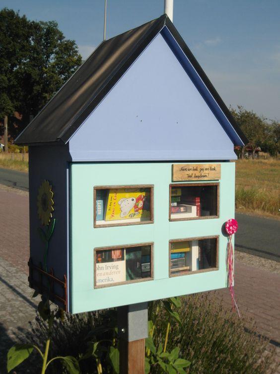 Straat-BoekenKastje Beek Bree