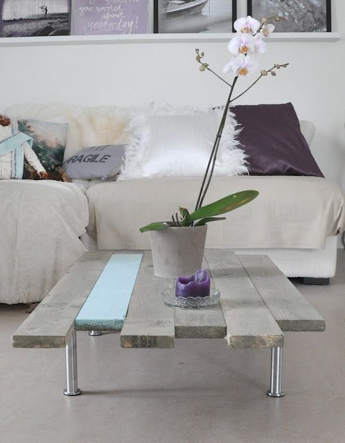 A coffee table in one night! DIY: