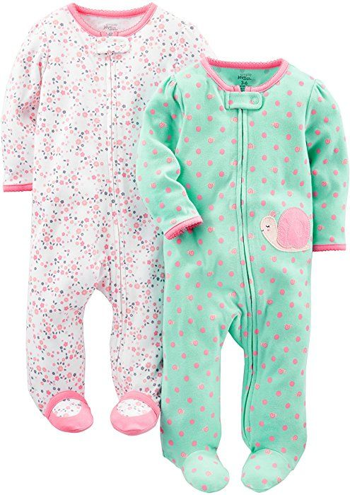 infant-and-toddler-sleepers Beb/é-Ni/ños Essentials 2-pack Microfleece Baby Sleep Sack