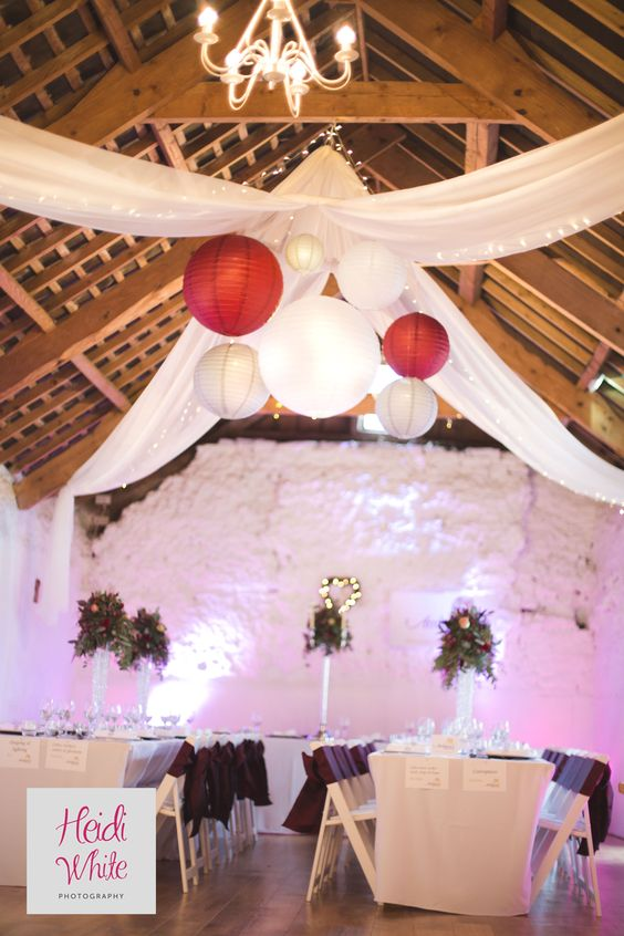 You can bring your own decoration to The Old Barn to make it exactly how you imagine. See what more it has to offer here: http://www.northdevonwedding.com/old-barn.ashx