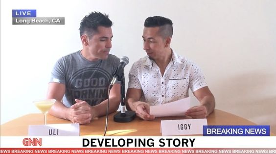 Gay Couple Holds Hilarious News Conference with Their Cats to Crowdfund Their Surrogacy Attempt: WATCH