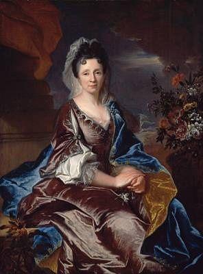 Madeleine de Gontaut-Biron, 2e. Marquise de Bonnac (1692 - 1739). / By Rigaud.