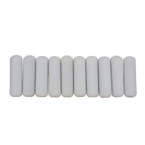 Shur Line 2006698 4 Inch Mini Paint Roller Cover Refills With Foam Covered Ends Pack Of 10 Paint Roll Paint Roller Covers Refinishing Furniture Paint Roller