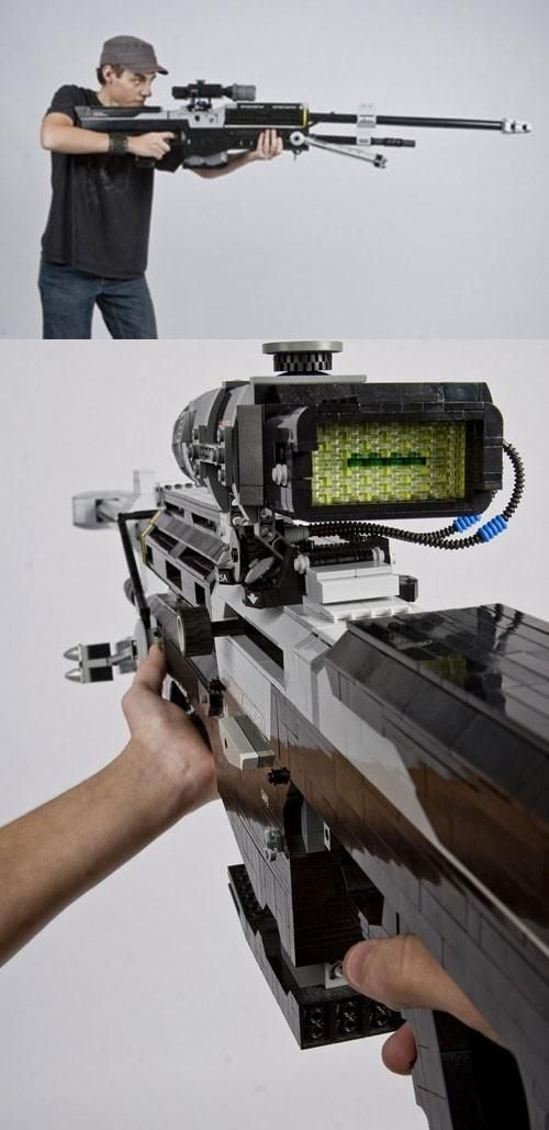 Cool Guns Toys For Boys : Snipers sniper rifles and awesome lego on pinterest