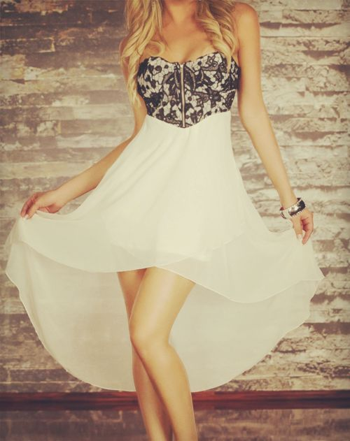 Imagen de dress, fashion, and white