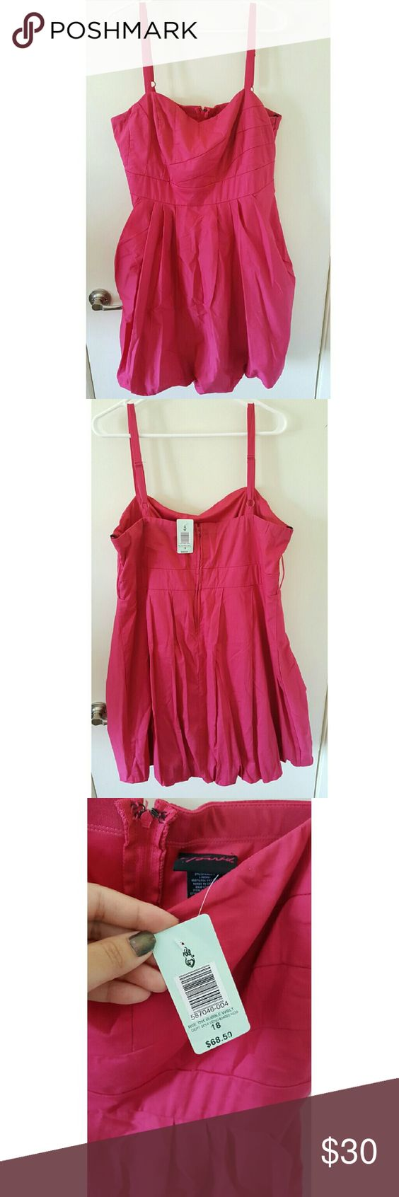 Torrid pink bubble dress Torrid pink bubble dress size 18! Nwt ...