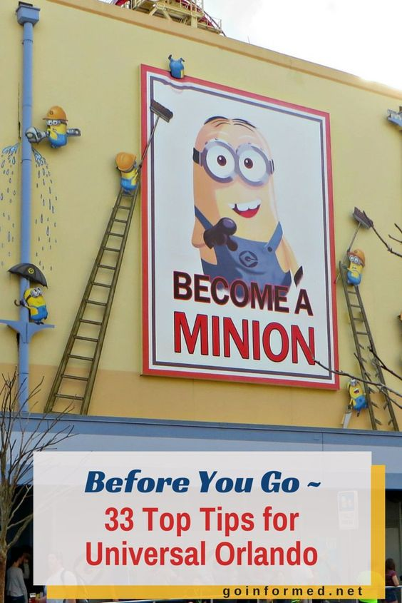 Minions ride at Universal Studios Orlando. 33 Top Tips to know before you visit from goinformed.net .