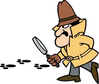Pink Panther Detective Clip Art
