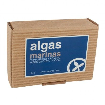 Jabon de Algas Marinas | Ajedrea Cosmetica Natural